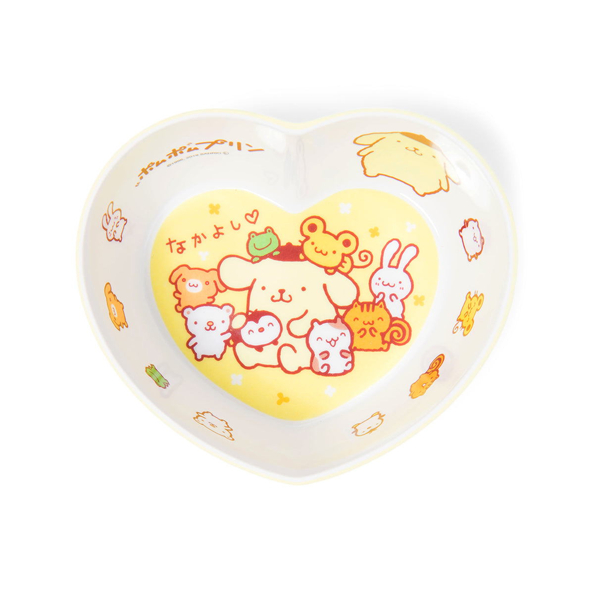 Pompompurin Heart Bowl