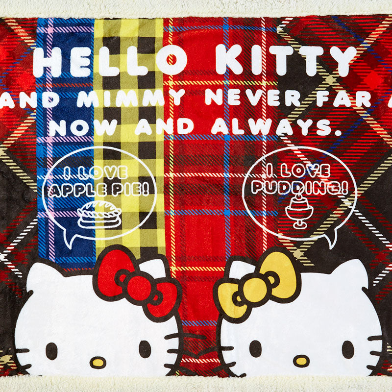 Hello Kitty & Mimmy Birthday Blanket