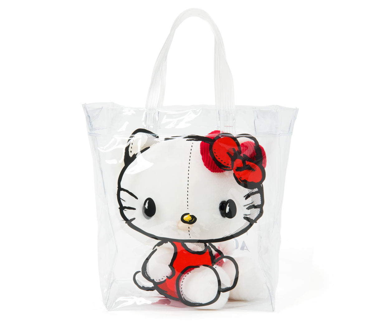Hello Kitty Touch Our Heart Plush In Bag