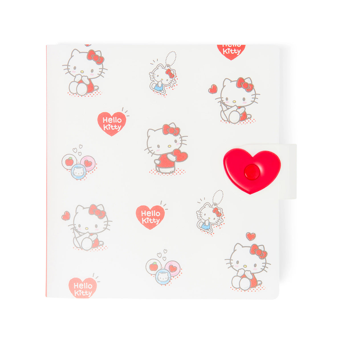 Hello Kitty Heart Snap Storage Folder