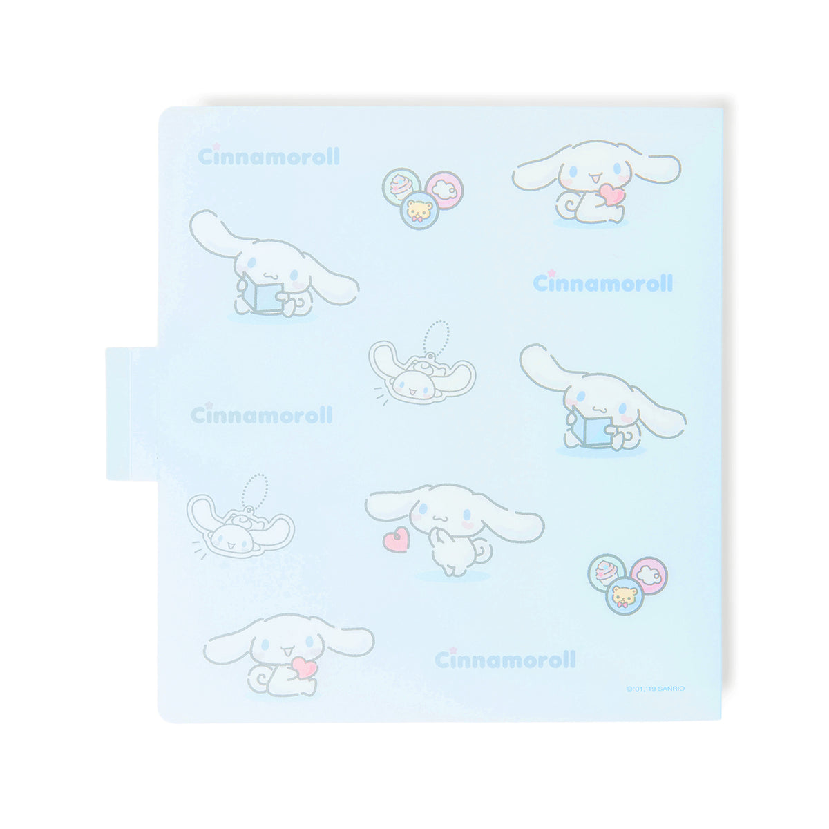 Cinnamoroll Heart Snap Storage Folder