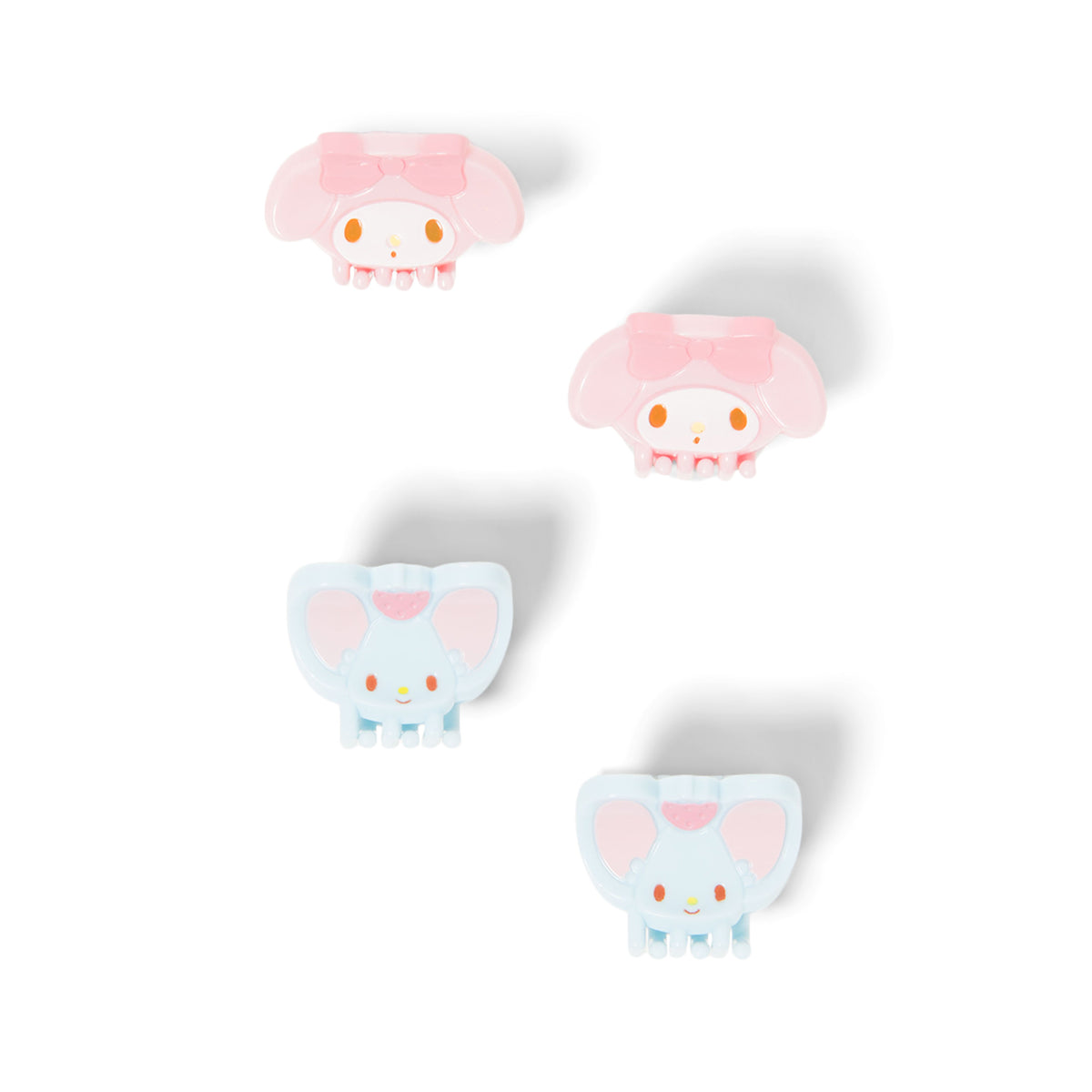 My Melody & Friends Mini Claw Hair Clips