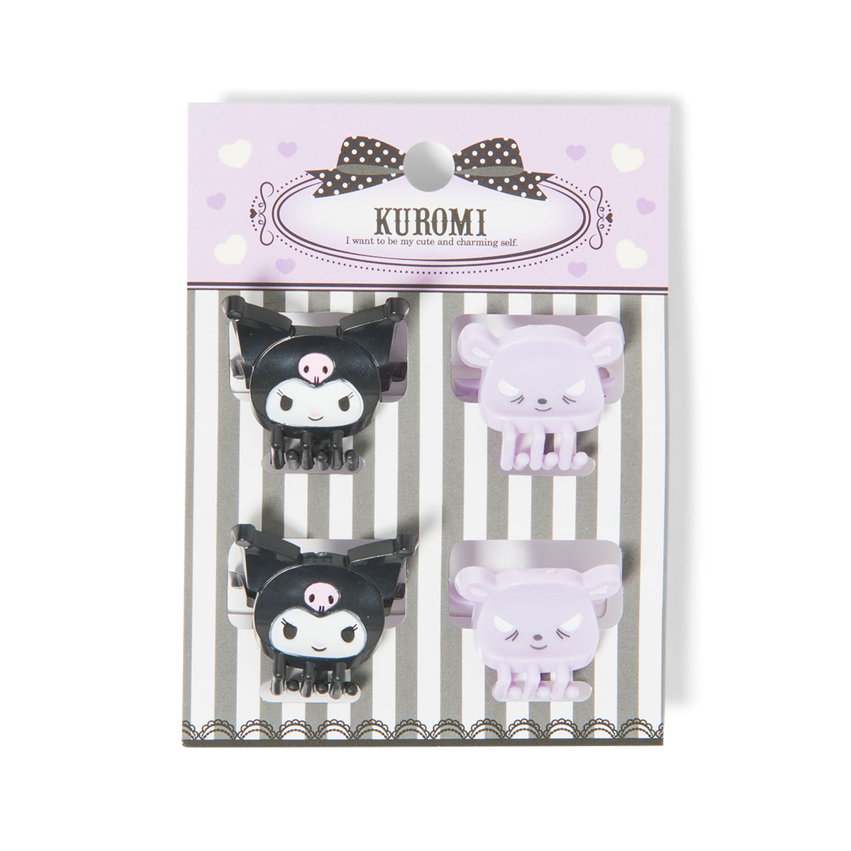 Kuromi & Friends Mini Claw Hair Clips