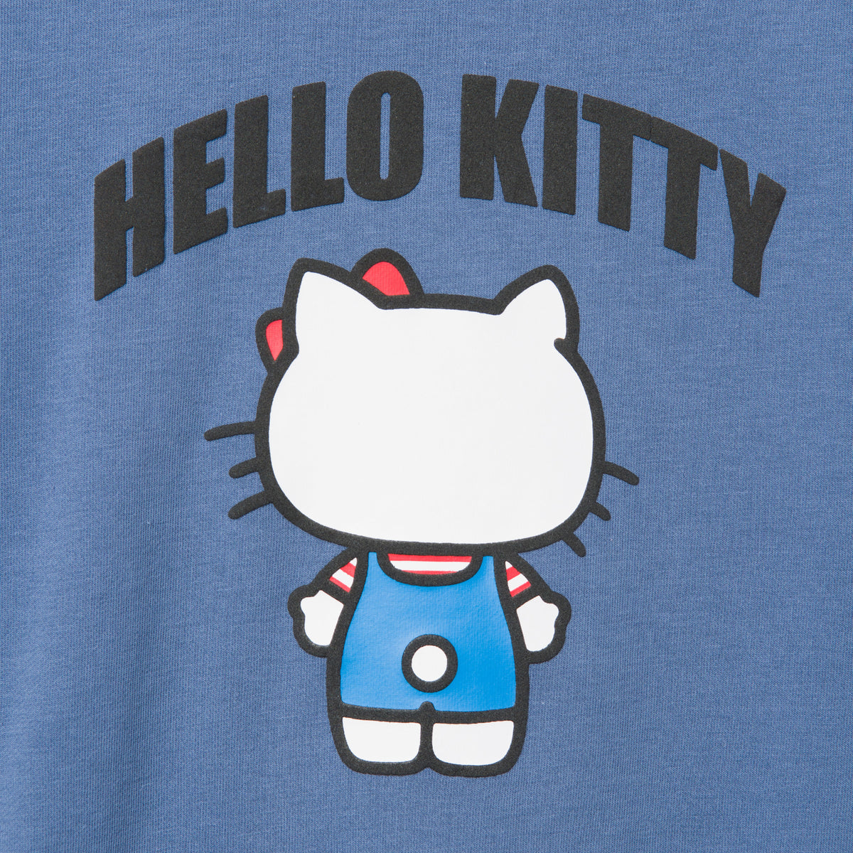 Hello Kitty Backside Print Sweatshirt Blue