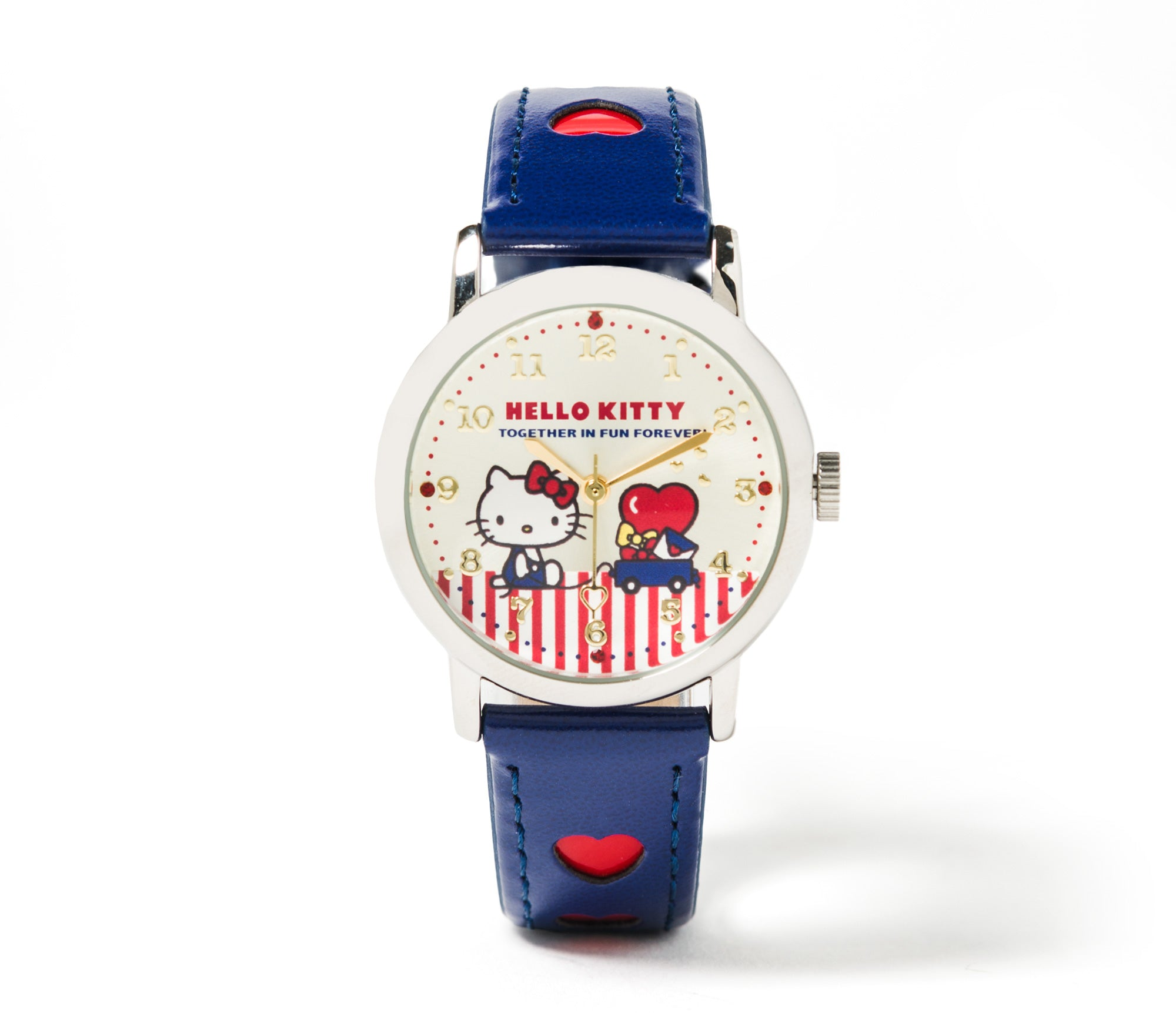 Hello Kitty Heart Wrist Watch