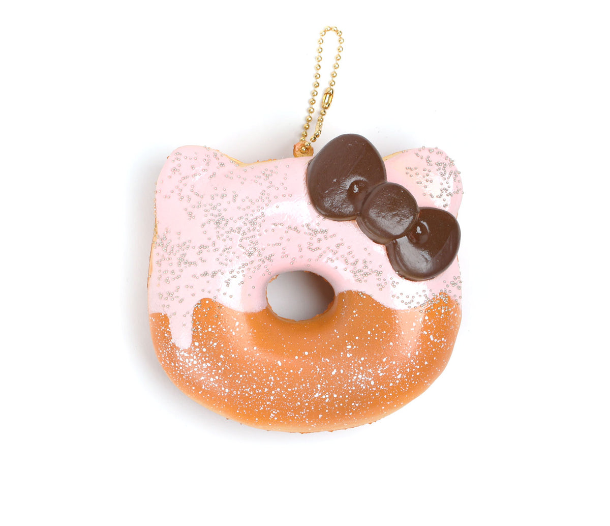 Hello Kitty Squishy: Strawberry Glazed Donut