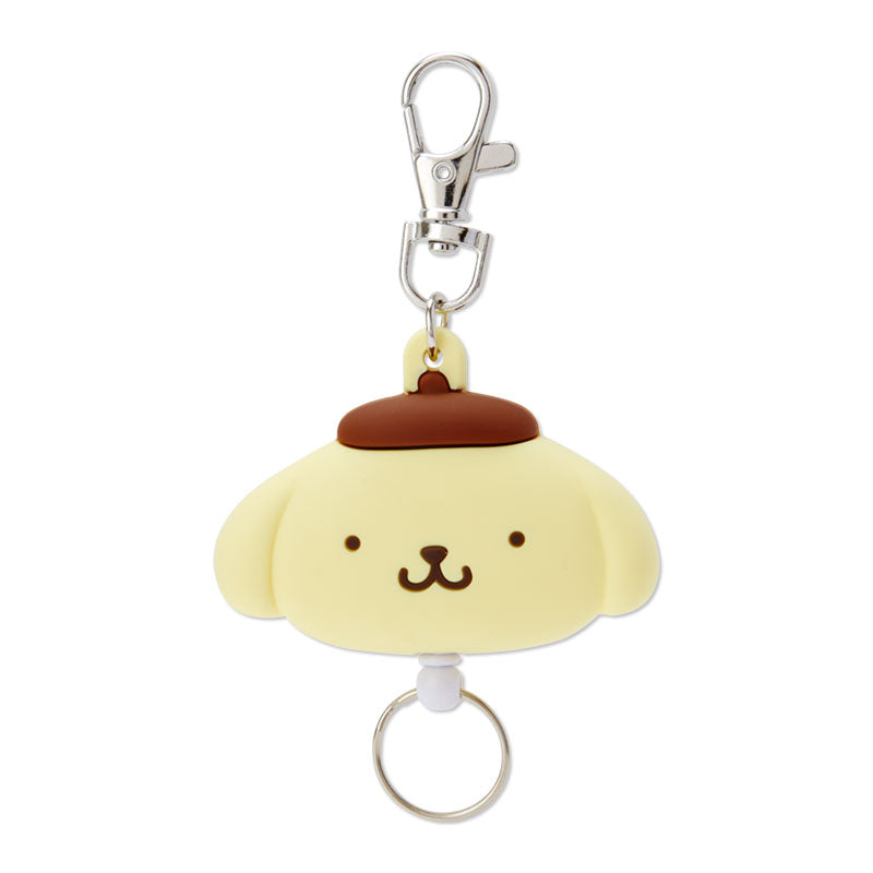 Pompompurin Face Badge Reel