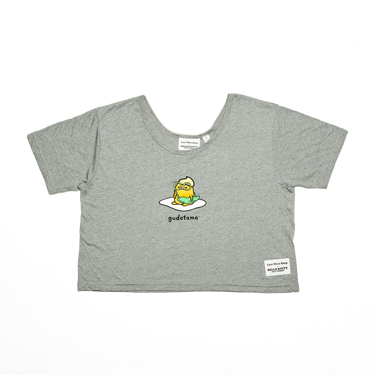 East West Shop x Gudetama Crop Tee