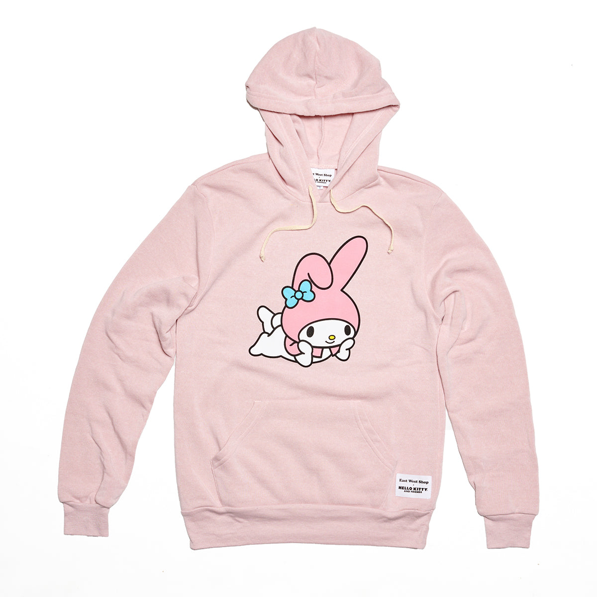 East West Shop x My Melody Pullover Hoodie Pink