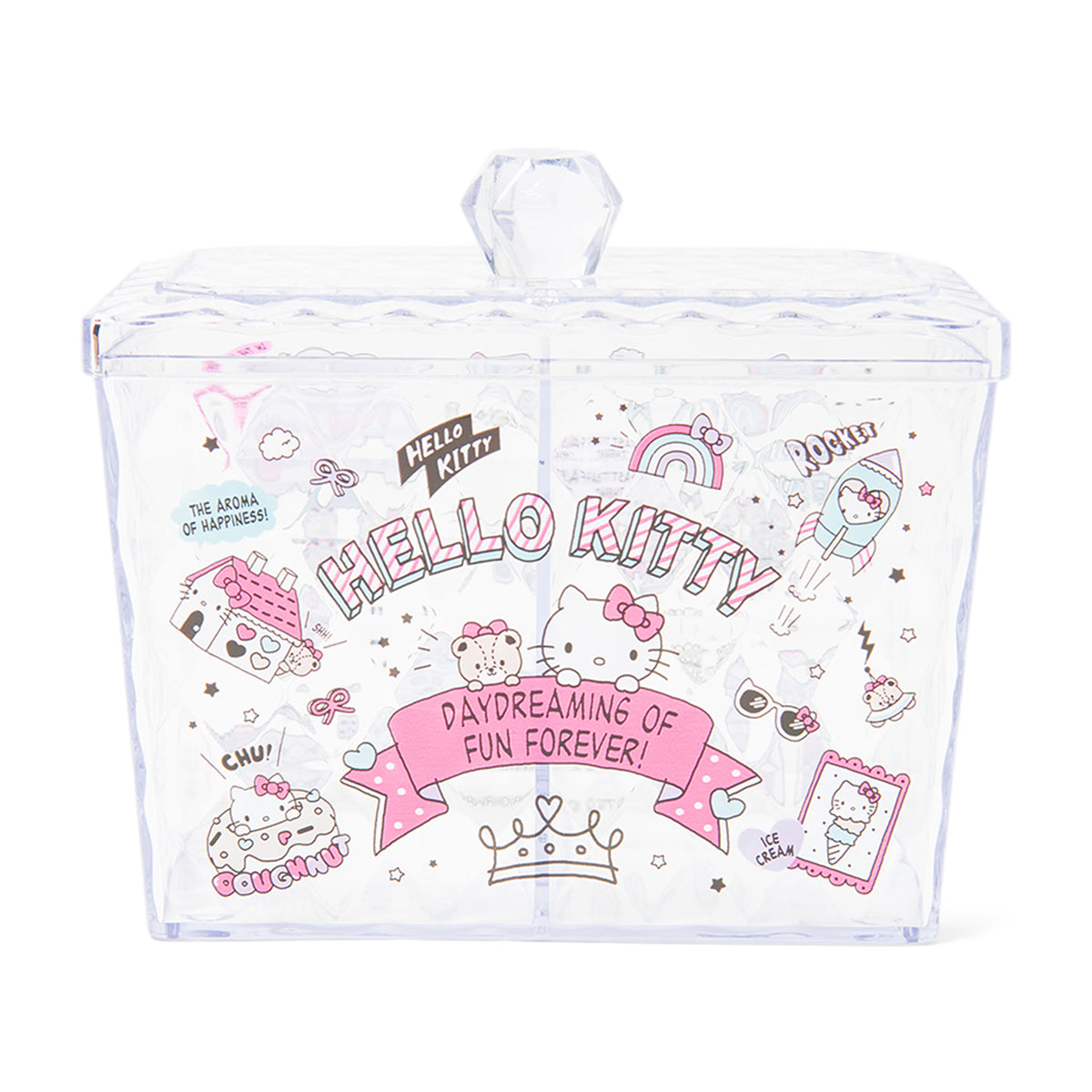 Hello Kitty Sheer Square Case