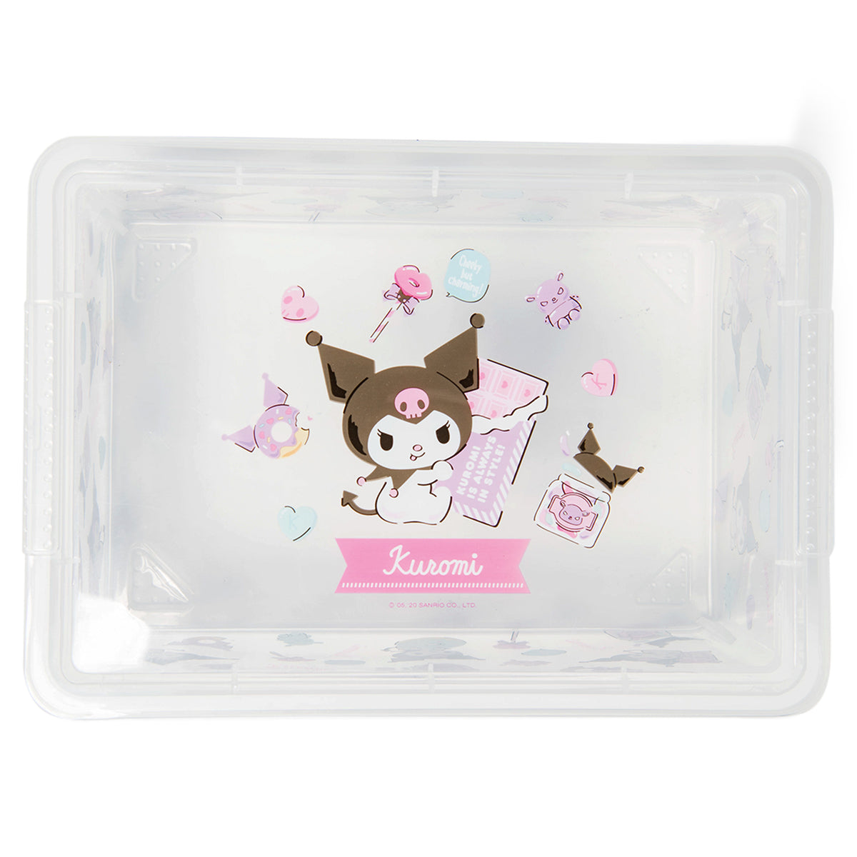 Kuromi All Over Print Storage Box