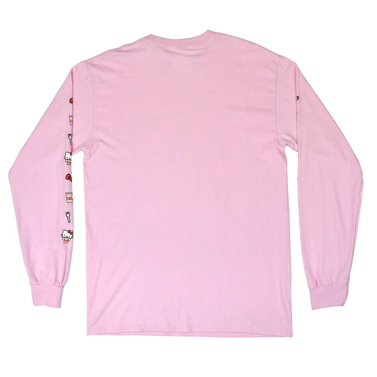 Hello Kitty x Cup Noodles Pink Love Long Sleeve T-Shirt