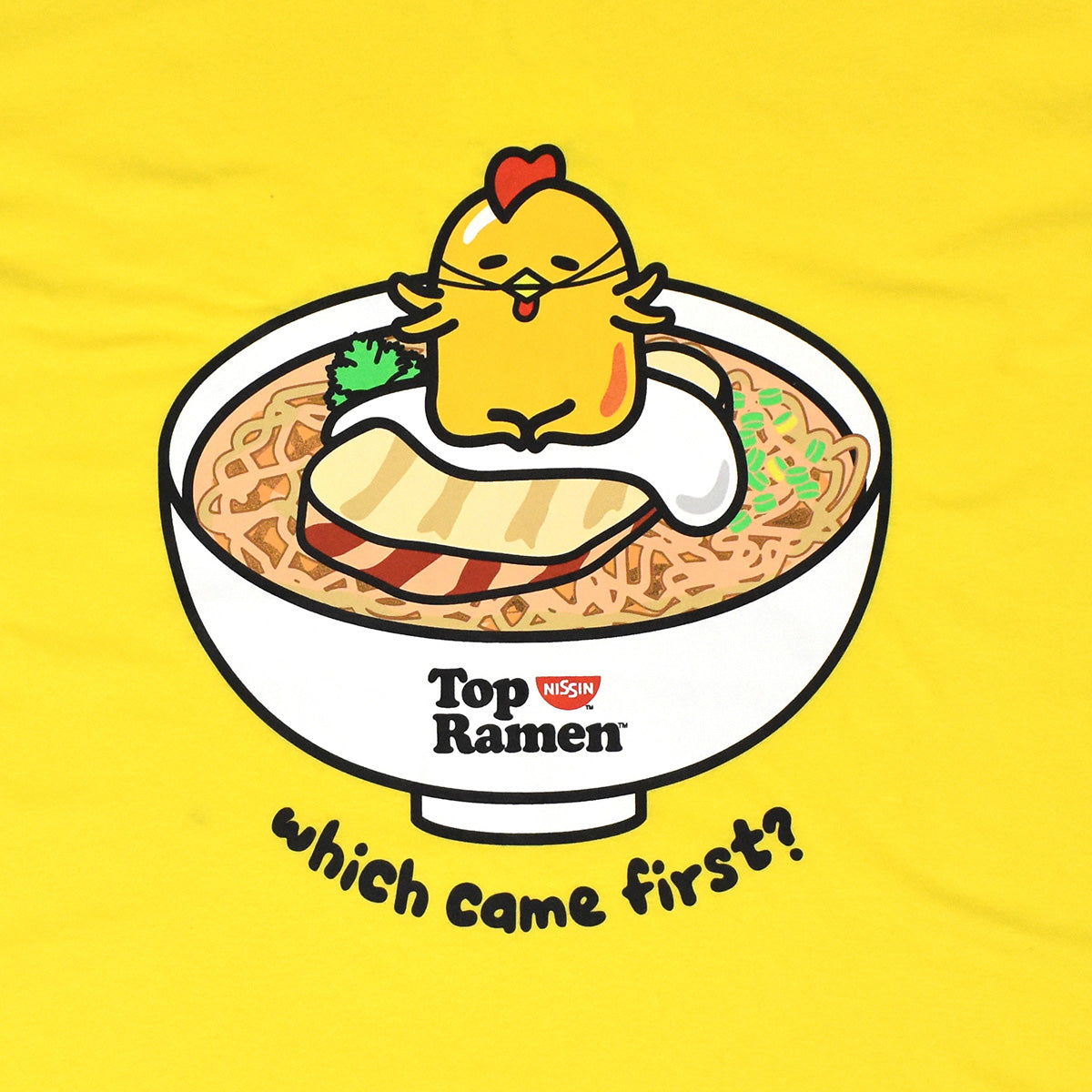 Gudetama x Top Ramen Chicken Or Egg T-Shirt