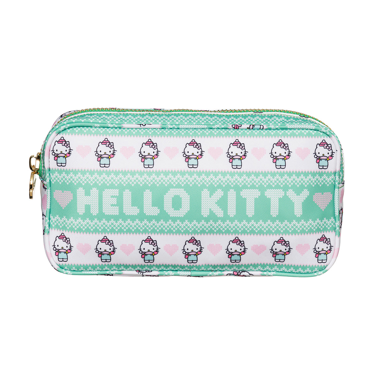Hello Kitty x Stoney Clover Lane Holiday Winter Fun Small Pouch
