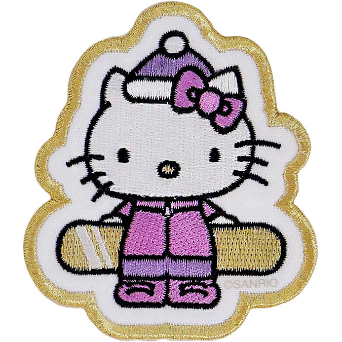 Hello Kitty x Stoney Clover Lane Holiday Snowboard Patch