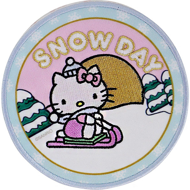 Hello Kitty x Stoney Clover Lane Holiday Snow Day Patch