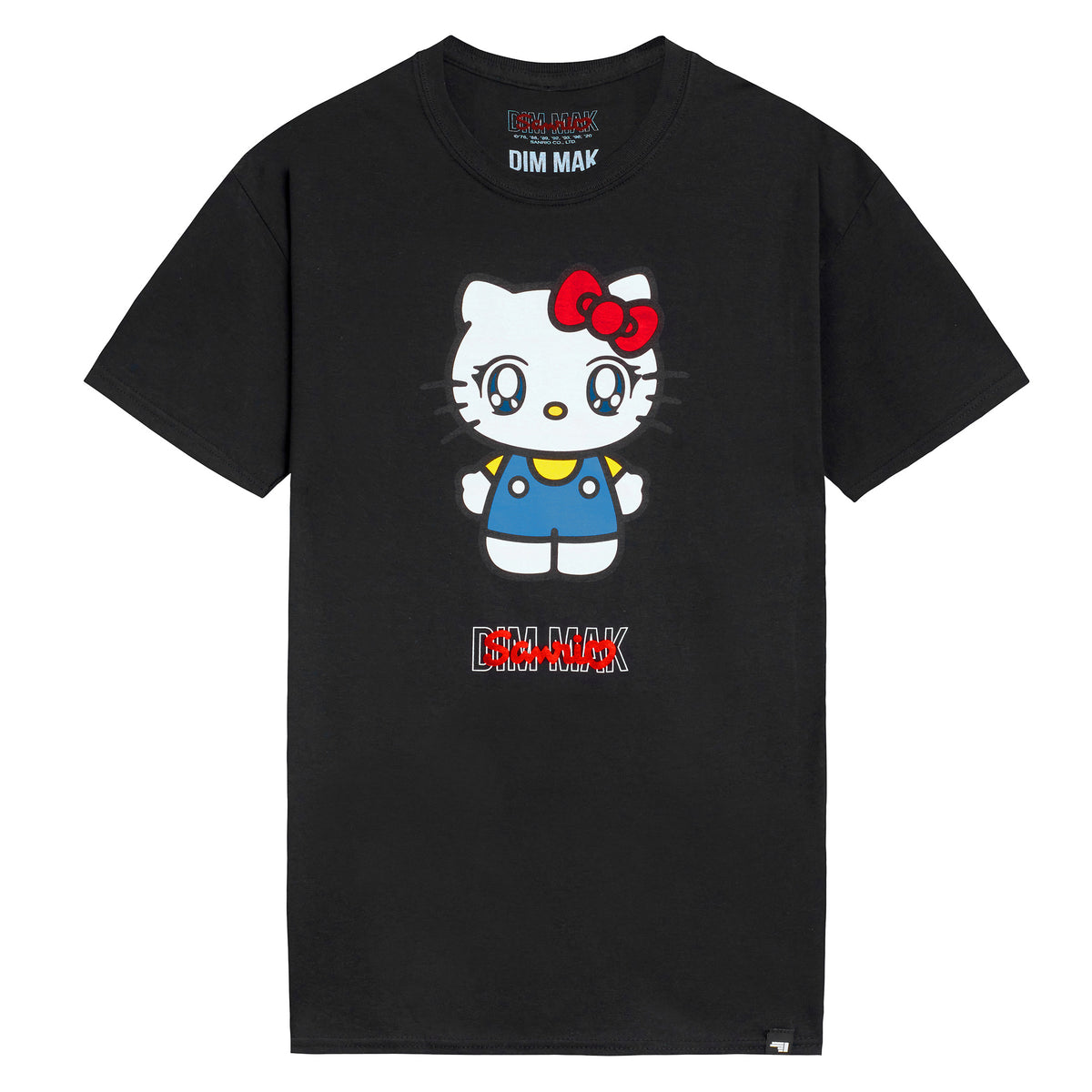 Dim Mak x Sanrio Hello Kitty Tee Black