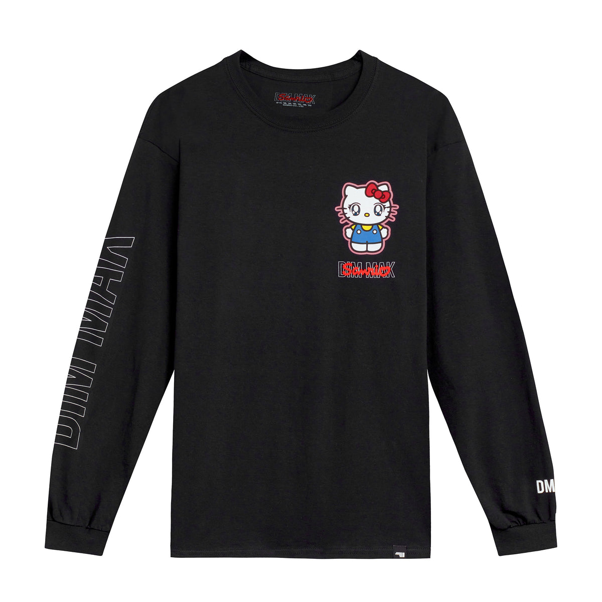 Dim Mak x Sanrio Hello Kitty Long sleeve Tee Black