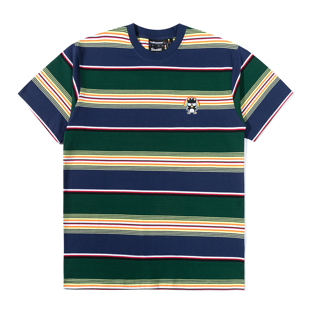 The Hundreds x Sanrio Badtz-Maru Forest Highland T-Shirt Stripes