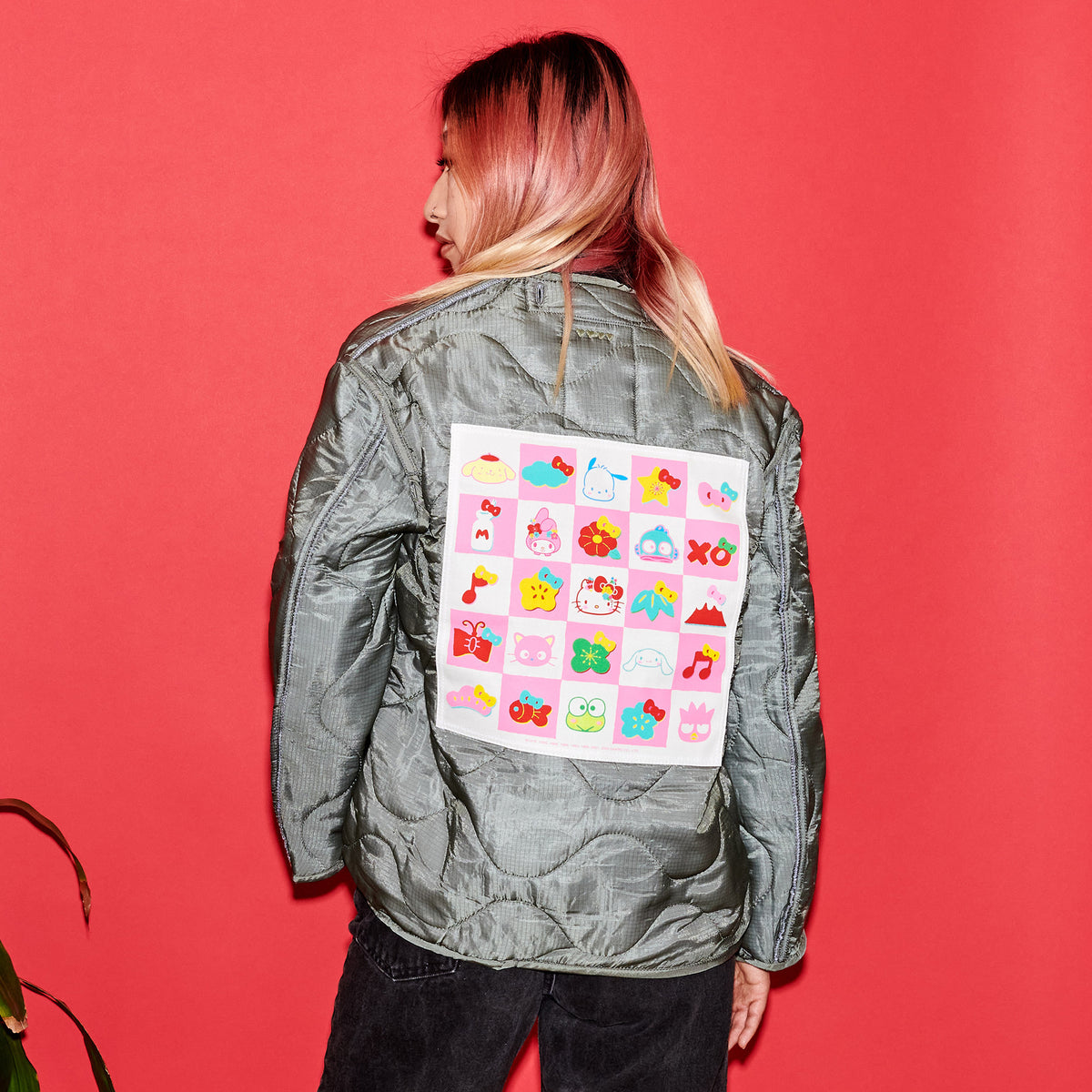 East/West Sanrio 60th Quilted Jacket: Hello Kitty & Friends