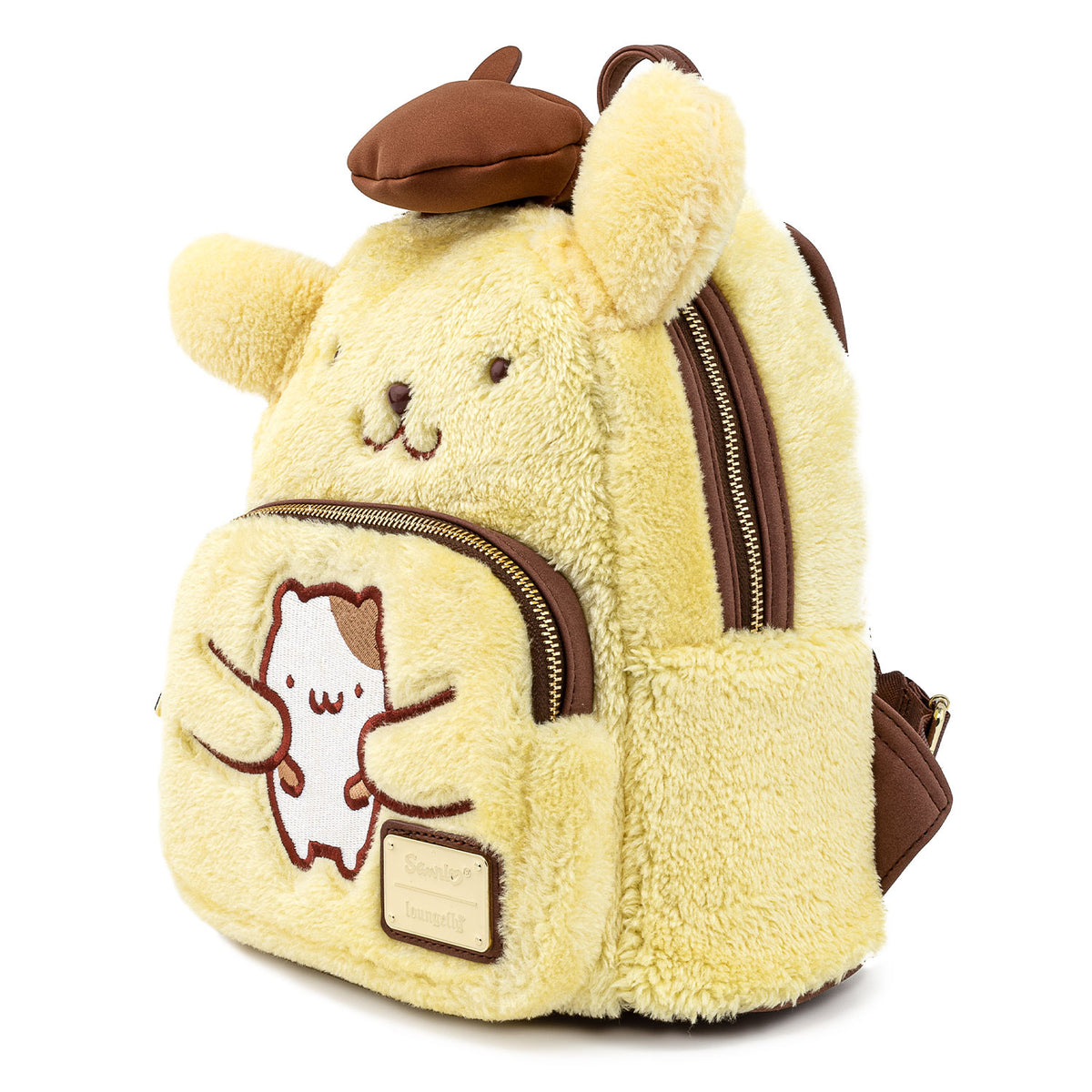 Loungefly x Pompompurin Plush Mini Backpack