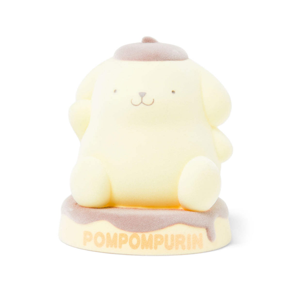 Pompompurin Flocked Figure Coin Bank