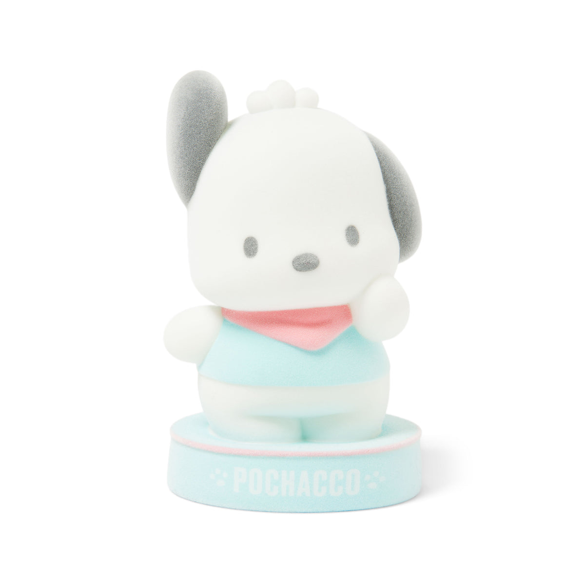 Pochacco Flocked Figure Coin Bank