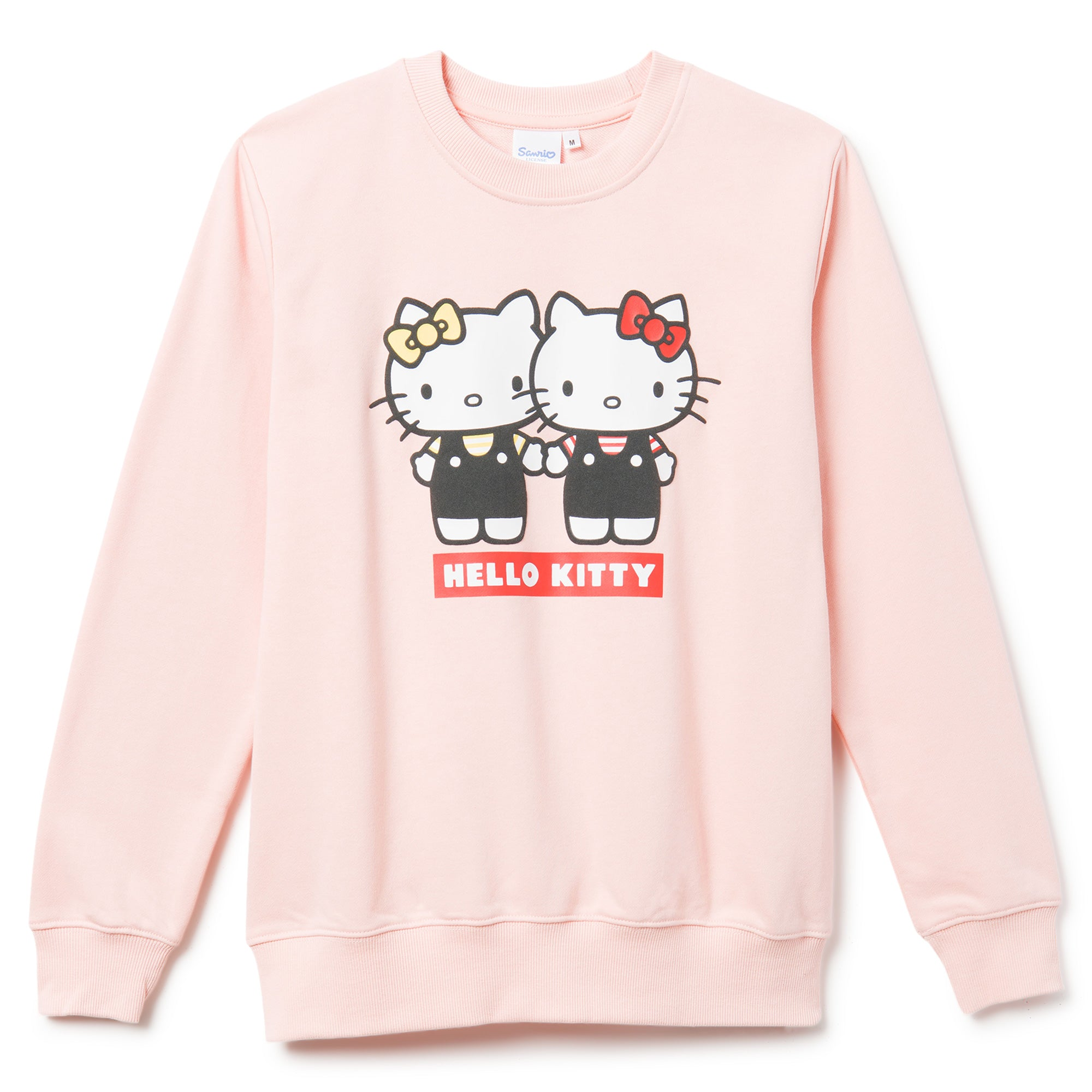 Hello Kitty & Mimmy Print Sweatshirt Pink