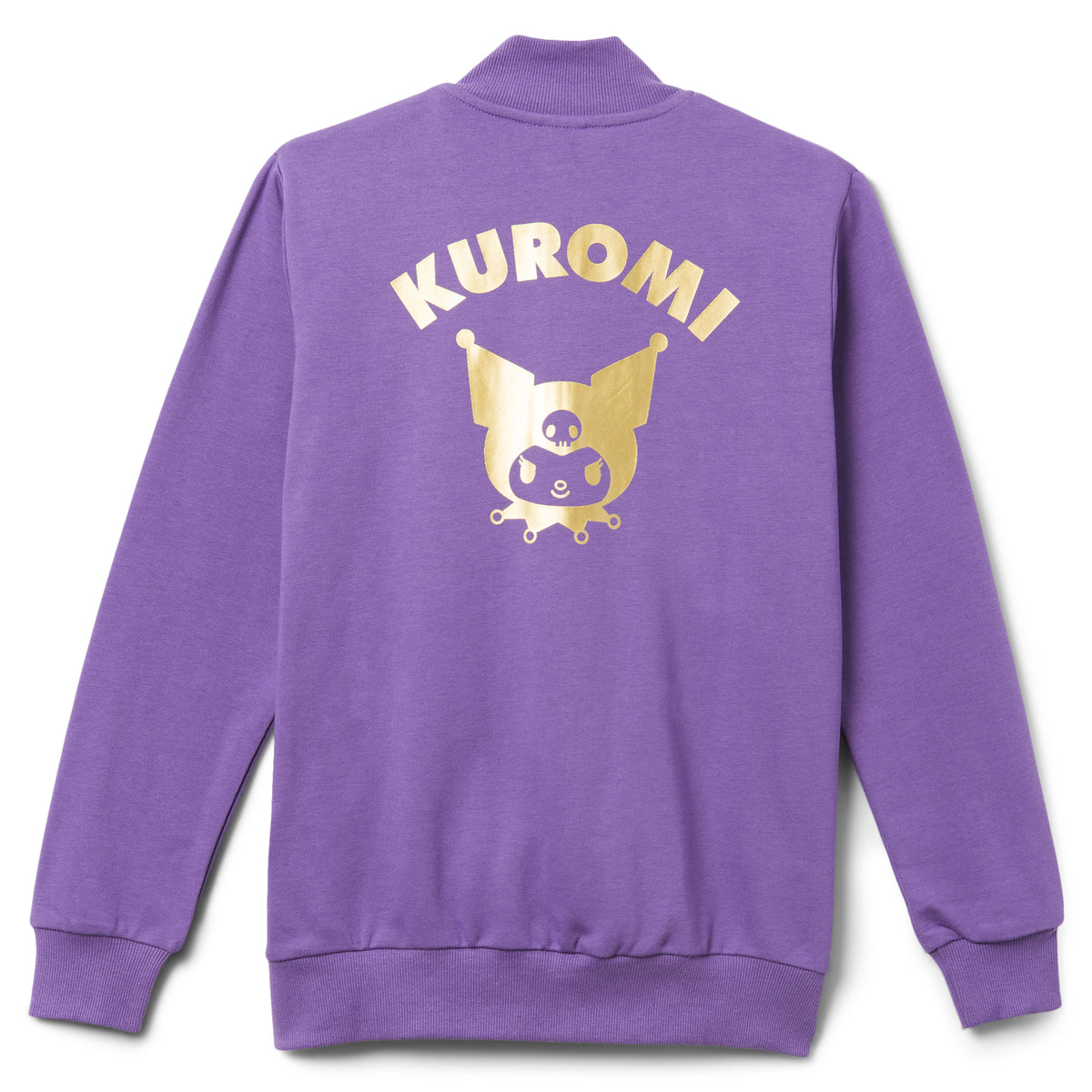 Kuromi French Terry Track Jacket Purple