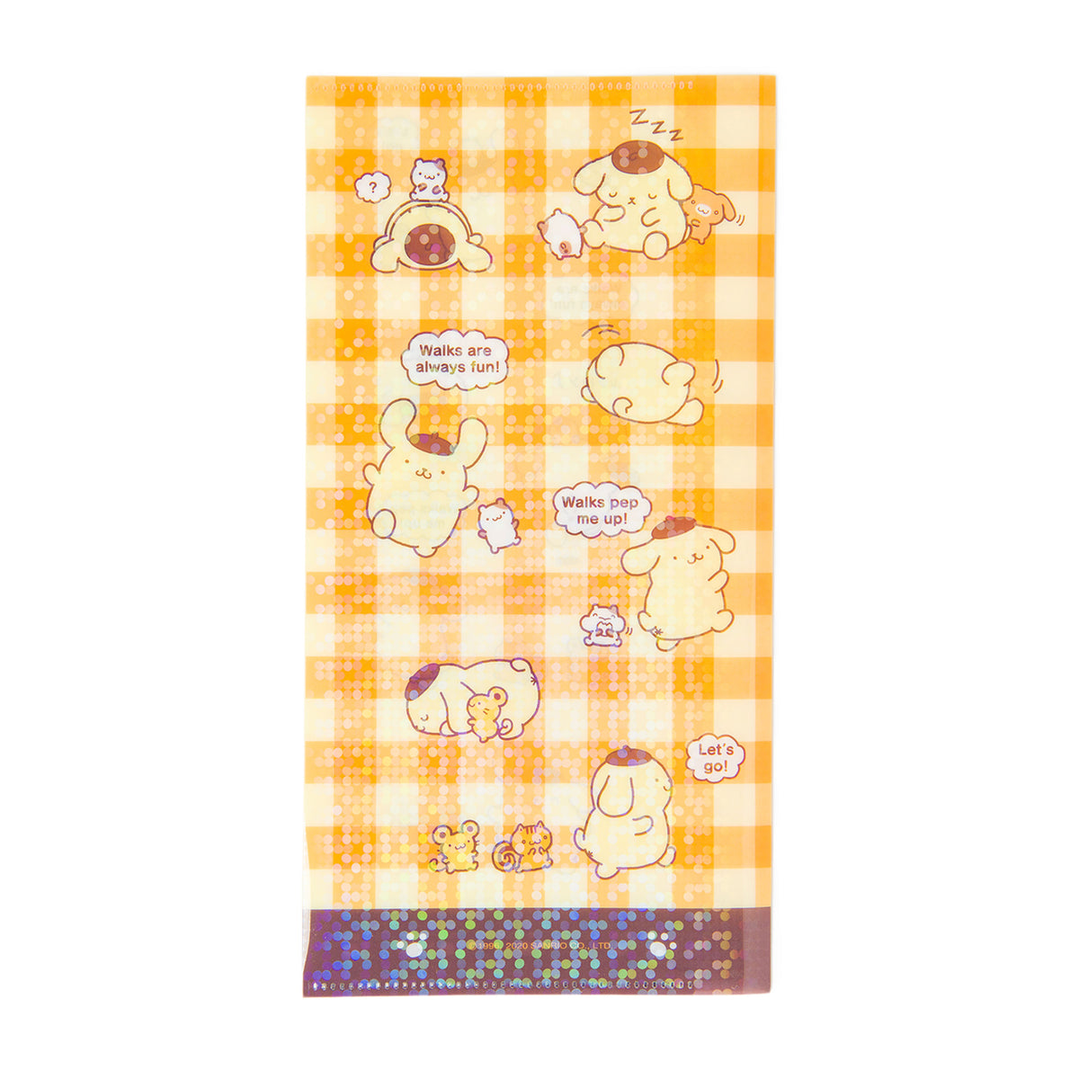 Pompompurin Document Holder