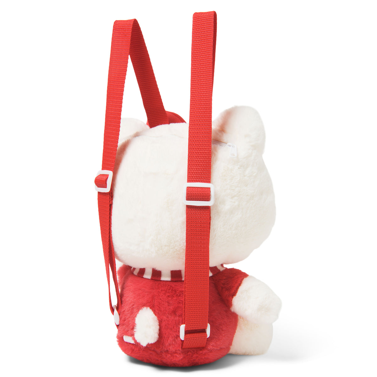 Hello Kitty Plush Backpack Red