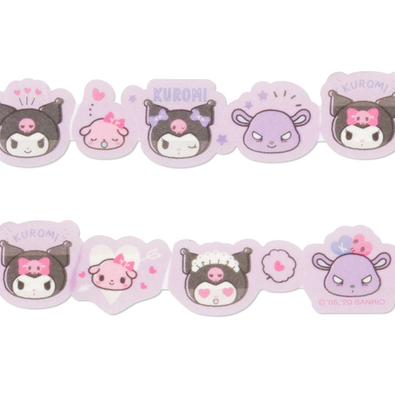 Kuromi Peta Roll Washi Sticker Tape