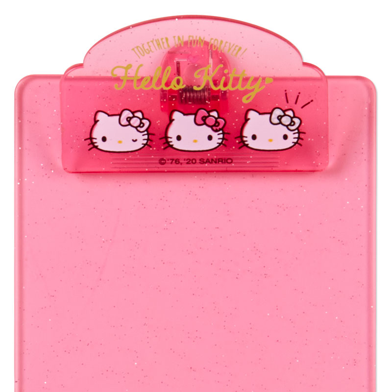 Hello Kitty Sparkle Mini Clipboard & Memo Pad