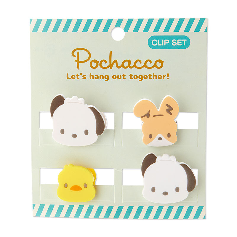 Pochacco & Friends Mini Face Clips