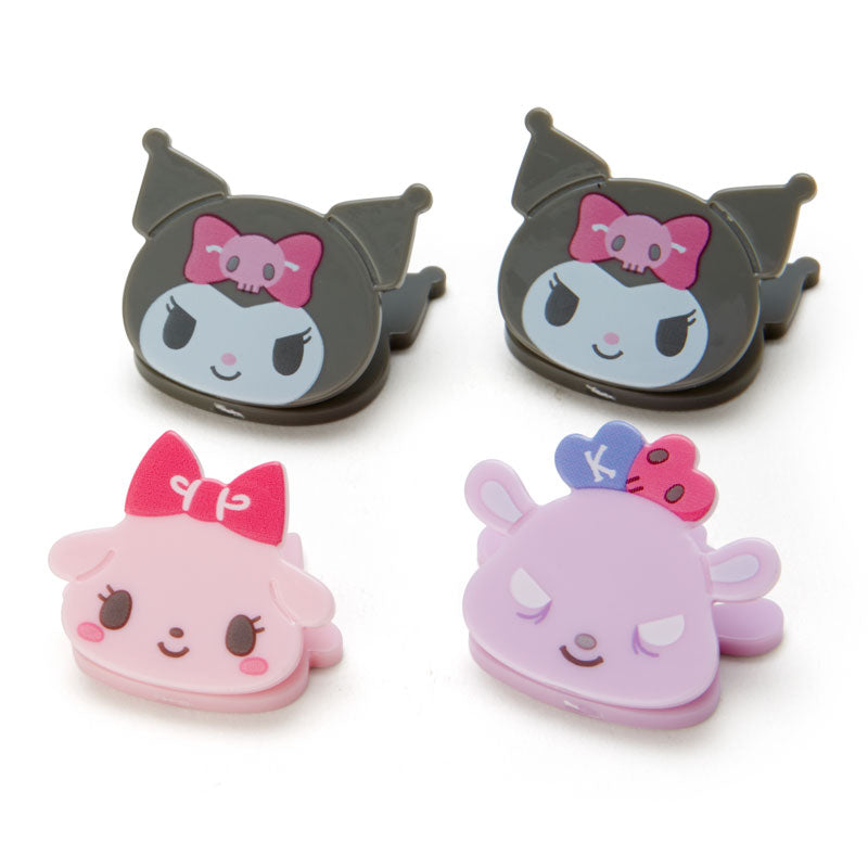Kuromi & Friends Mini Face Clips