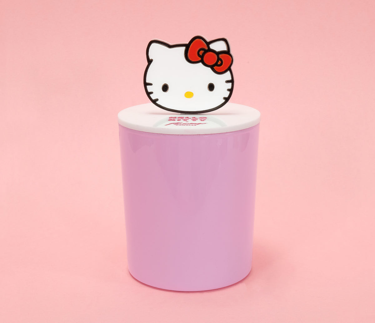 Hello Kitty x Flamingo Candles Apple Pie Acrylic Icon Top Gloss Jar