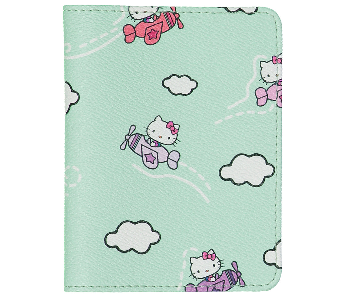 Stoney Clover Lane x Hello Kitty Airplanes Passport Holder