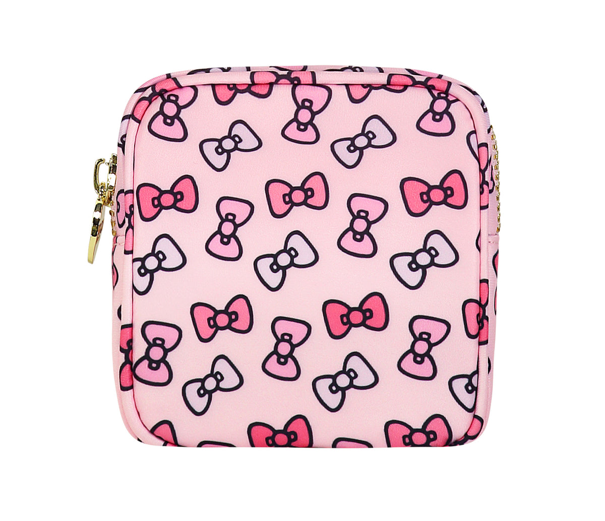Stoney Clover Lane x Hello Kitty Bows Mini Pouch