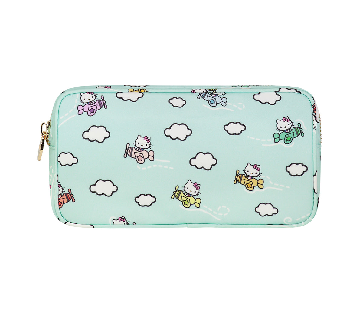 Stoney Clover Lane x Hello Kitty Airplanes Small Pouch