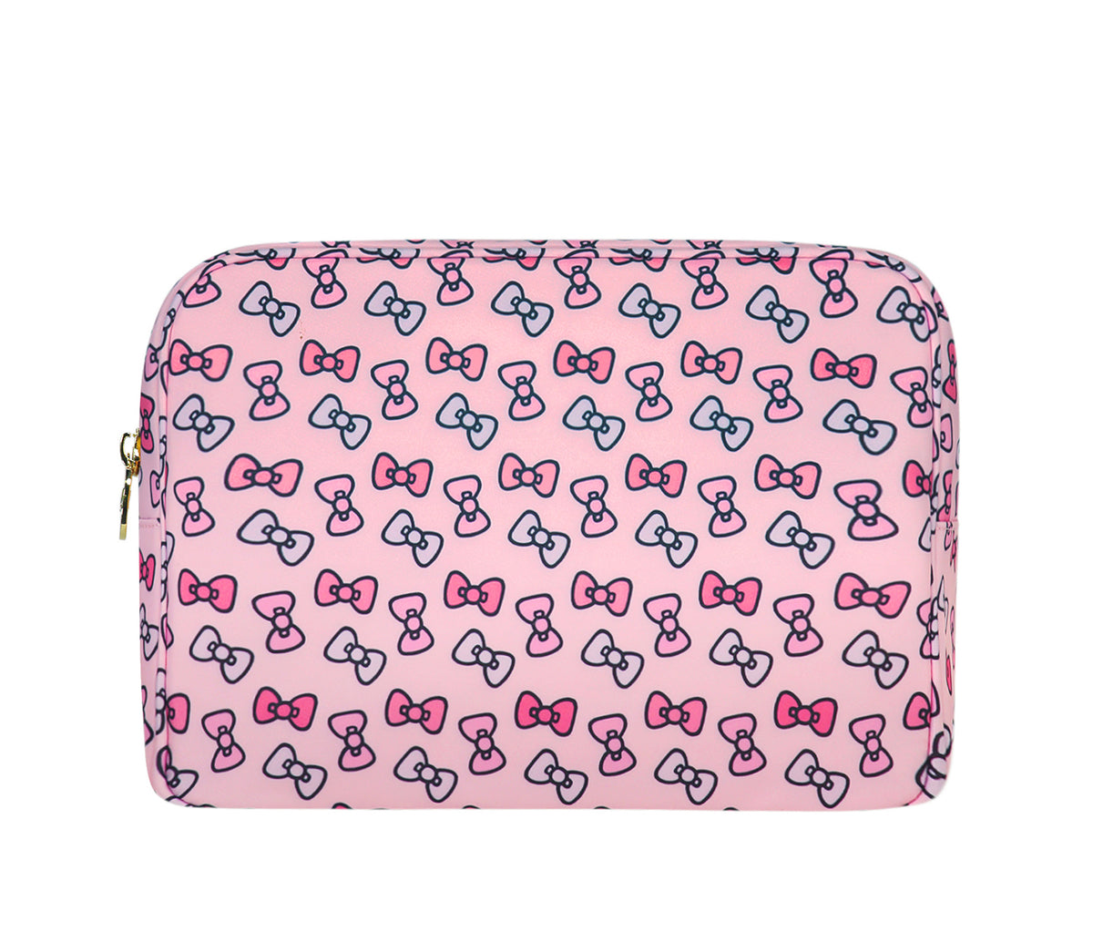 Stoney Clover Lane x Hello Kitty Bows Large Pouch