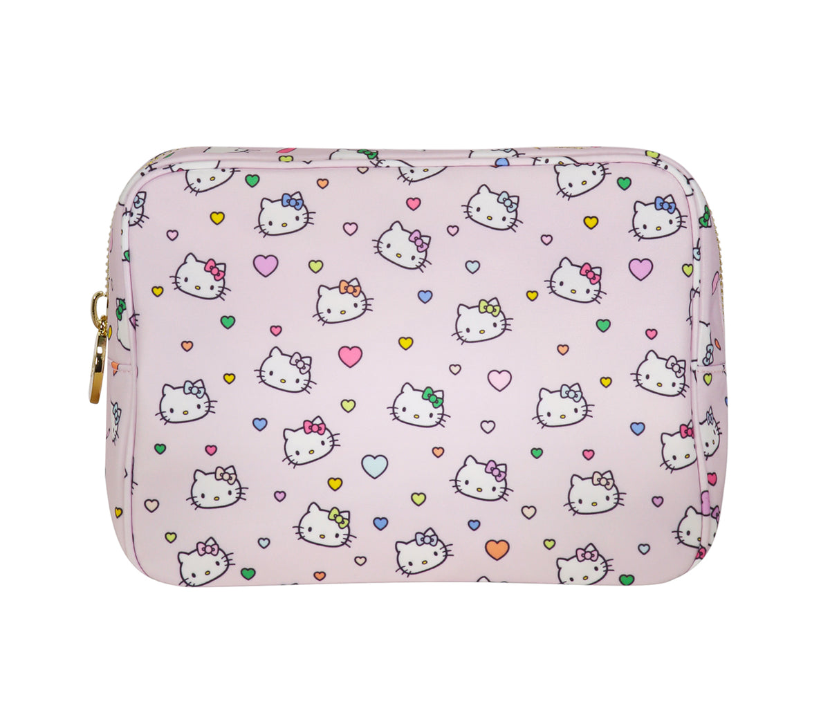 Stoney Clover Lane x Hello Kitty Hearts Large Pouch