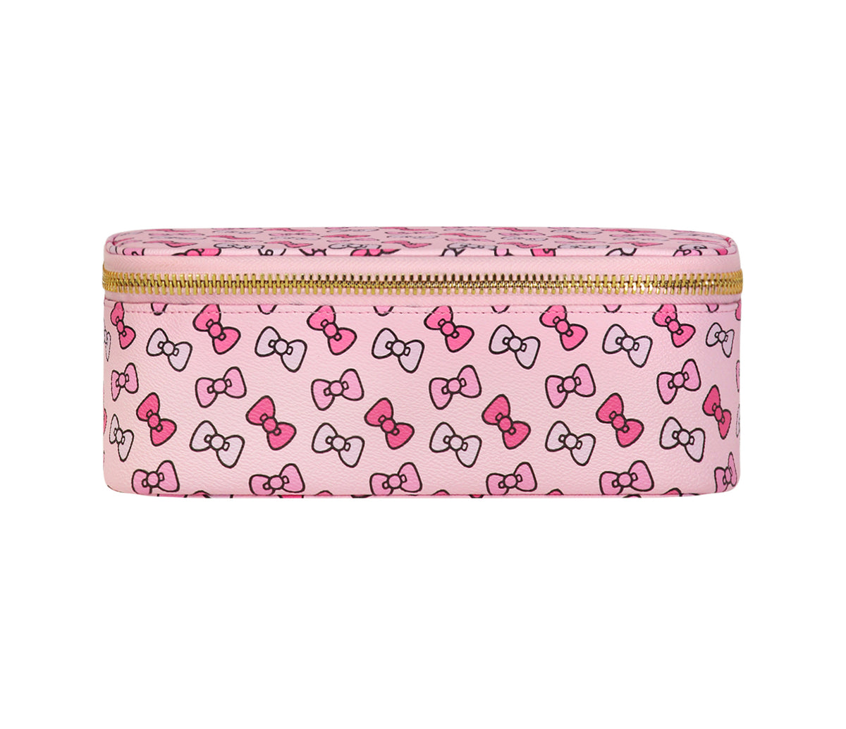 Stoney Clover Lane x Hello Kitty Bows Mirror Makeup Bag