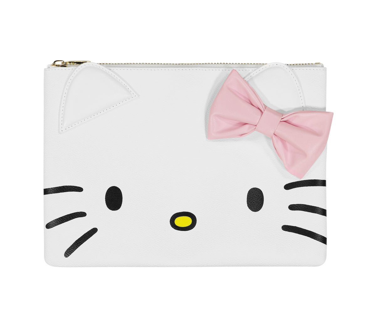 Stoney Clover Lane x Hello Kitty Face Flat Pouch