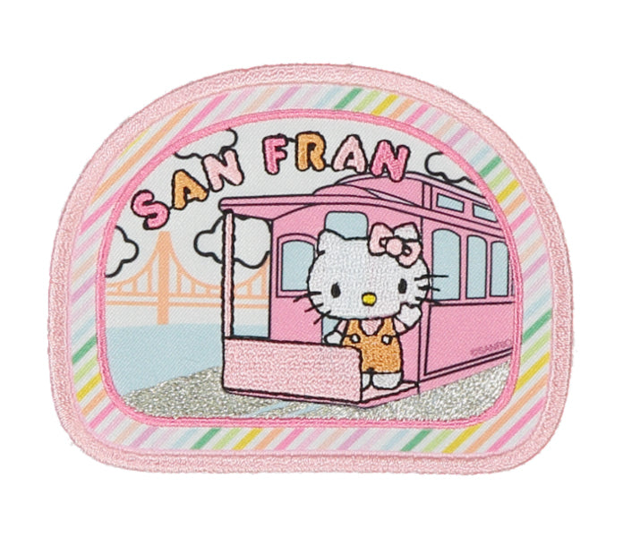 Stoney Clover Lane x Hello Kitty San Francisco Sticker Patch