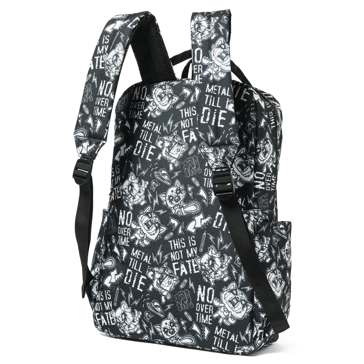 Loungefly Aggretsuko Metal AOP Backpack