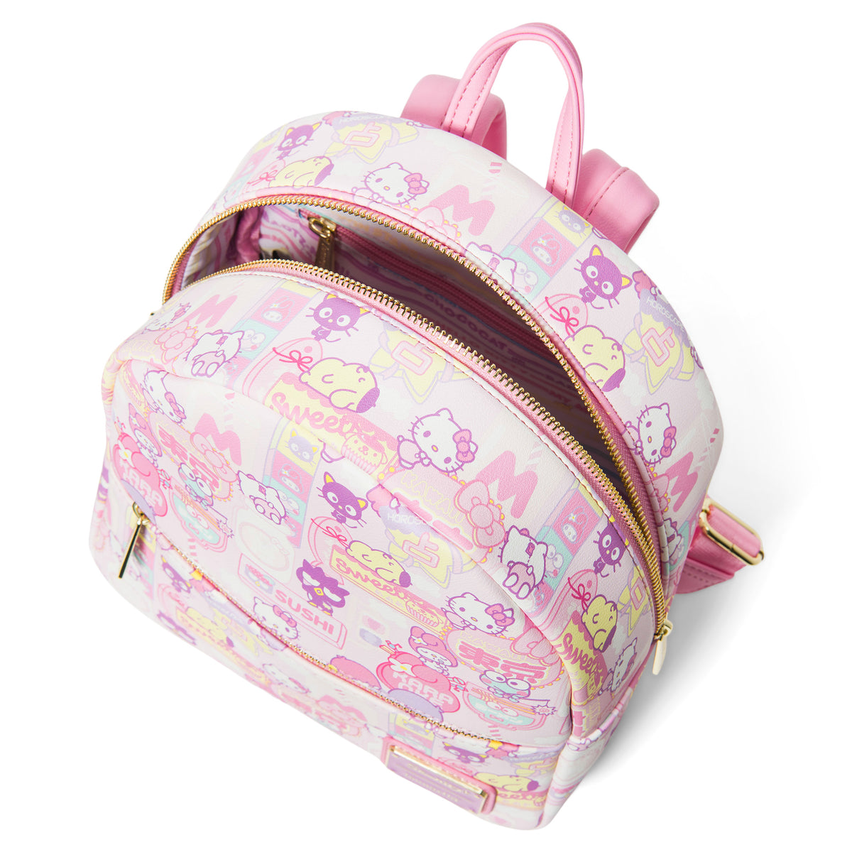 Loungefly Sanrio Kawaii AOP Mini Backpack