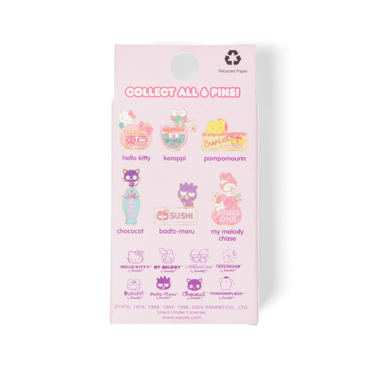 Loungefly x Sanrio Neon Signs Blind Box Pins
