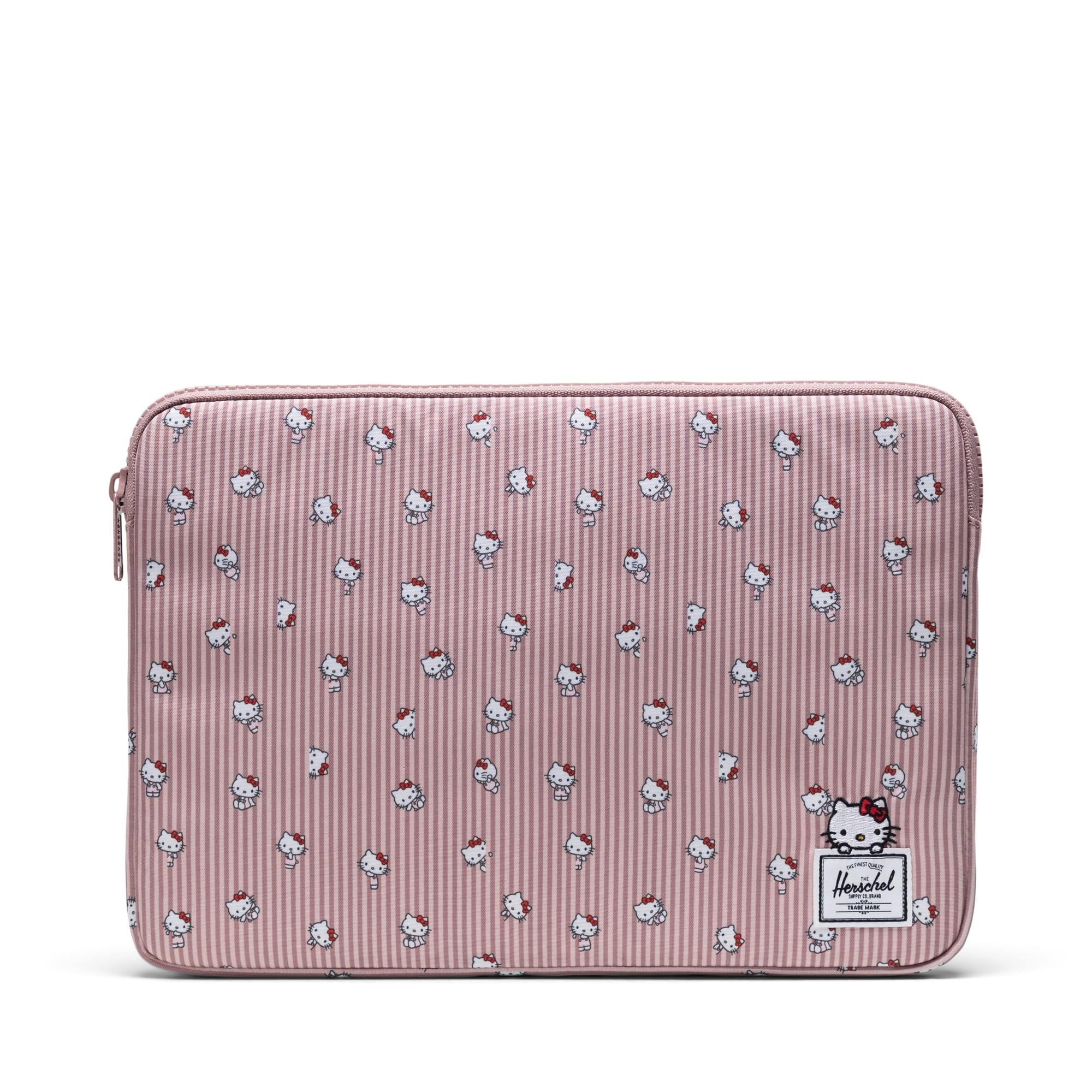 Hello Kitty Yellow 10-13 13-17 Neoprene Laptop Sleeve Bag Carrying,Case Premium Laptop Briefcase Fits Up to 17 Inch Water-Repellent for Travel//Business//School//Men//Women