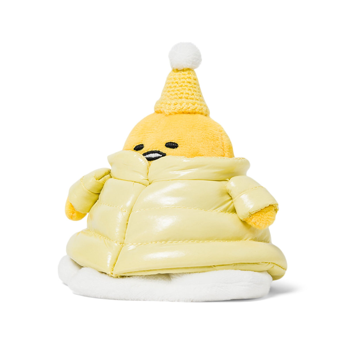 "Gudetama Puffer Down Jacket 6"" Plush"
