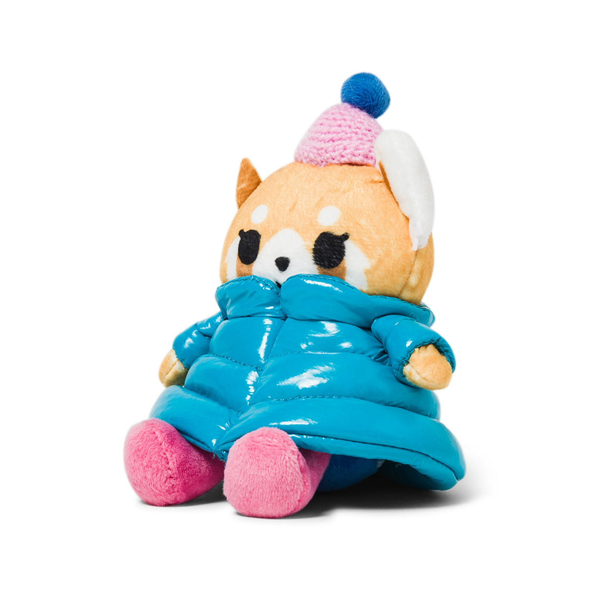 "Aggretsuko Puffer Down Jacket 6"" Plush"